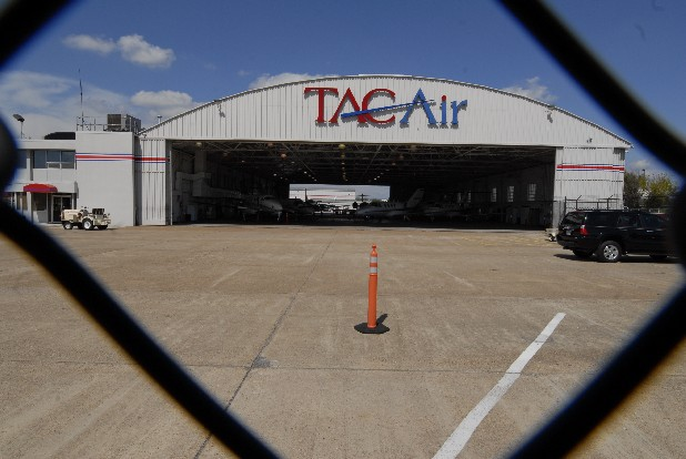 A Tac Air hanger at the Chattanooga Metropolitan Airport. Tac Air and airport officials disagree over the need for new general aviation facilities and a new fixed base operator.