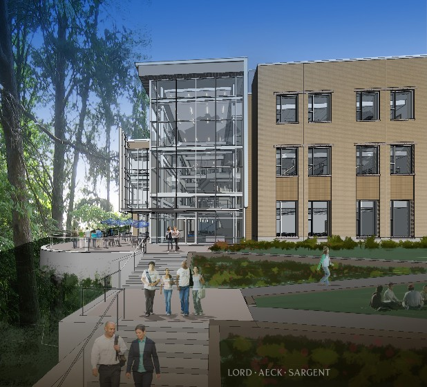 Rendering of Dalton State Science Building