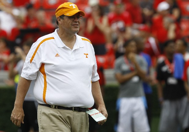 Tennessee offensive coordinator Jim Chaney will be in charge of the whole team Saturday against Kentucky as the interim head coach.