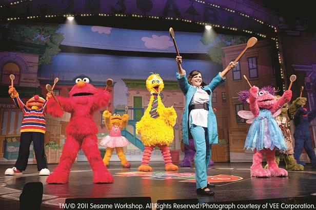 "All the ""Sesame Street"" gang joins Elmo to learn ways to make music during ""Elmo Makes Music."""