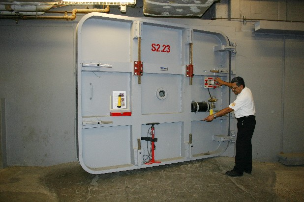 Submarine type flood doors were installed throughout the Texas Medical Center tunnel system in Houston after severe flooding from tropical storm Allison in 2001. The floods caused a massive blackout, inundated medical center streets with up to 9 feet of water, and forced evacuations of patients from the district's 6,900 hospital beds. If metropolitan New York is going to defend itself from surges like the one that overwhelmed the region during Superstorm Sandy, decision makers can start by studying how others have fought the threat of fast-rising water.