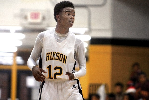 Hixson's William Nelson plays against Tyner on Tuesday night.