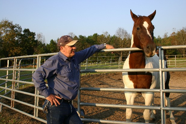 Ralph Casey is the owner of Farrier's National Research Center and Horseshoeing School in Villinow, Ga.