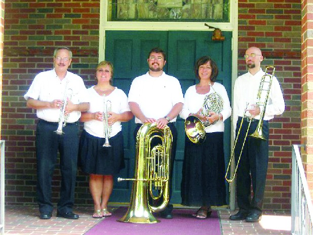 The Creative Arts Guild, 520 W. Waugh St., Dalton, Ga., will continue its In Concert series at 7 p.m. today, Dec. 20, with a performance by Flash of Brass in Jonas Performance Hall. The quintet features Phillip Dean (trumpet), Lynn Dean (trumpet), Thomas Ryan (tuba), Rita Carter (French horn) and Sam Simon (trombone). Their program of Christmas music will include sing-along selections. Admission is $5. Concessions will be available, or bring your own. For more information, call 706-278-0168 or visit www.creativeartsguild.org