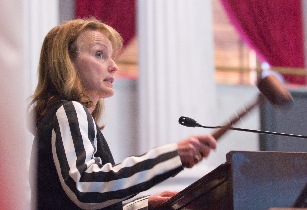 EMAILS ACCUSE SPEAKER HARWELL OF BEING A PUPPET.