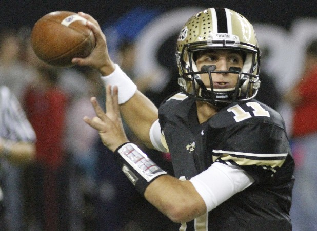 Calhoun High School's two-time all-state quarterback, Taylor Lamb, has decided to sign with Appalachian State.