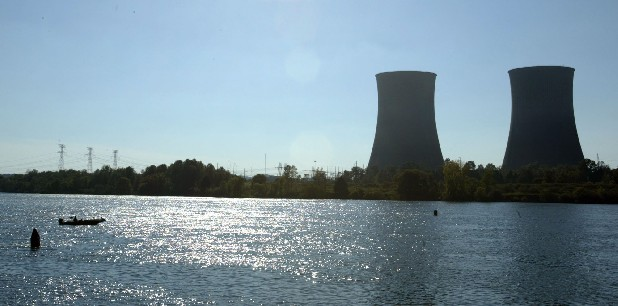 The cooling towers of the TVA Watts Bar Nuclear Plant in Spring City, Tenn.