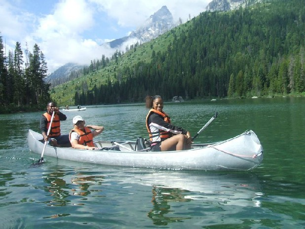 A summer program in Wyoming's Grand Teton National Park gave Chattanooga Keylee Jones much more than just an education in the outdoors.
