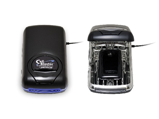 Cellblaster UV cell phone sanitizer