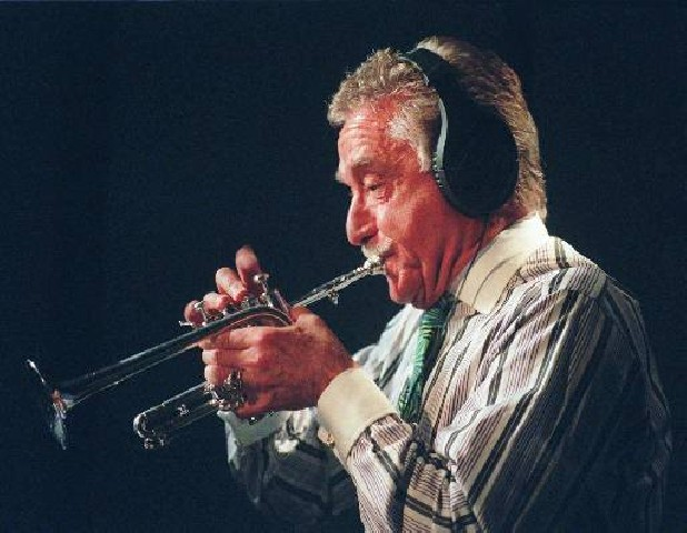 Doc Severinsen plays the trumpet at the National Sound Studios in New York in 1998. Severinsen will perform with the Chattanooga Symphony & Opera Feb. 15 and 16 at the Tivoli Theatre.