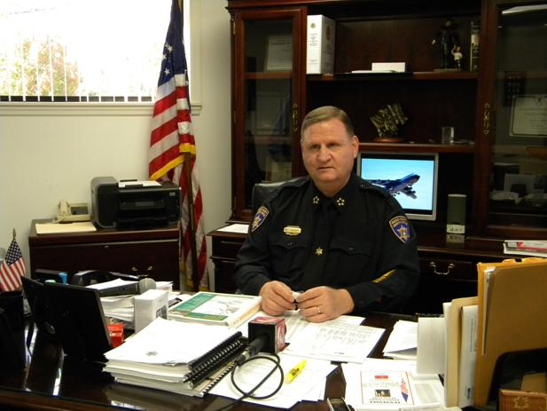 Bradley County Sheriff Jim Ruth.