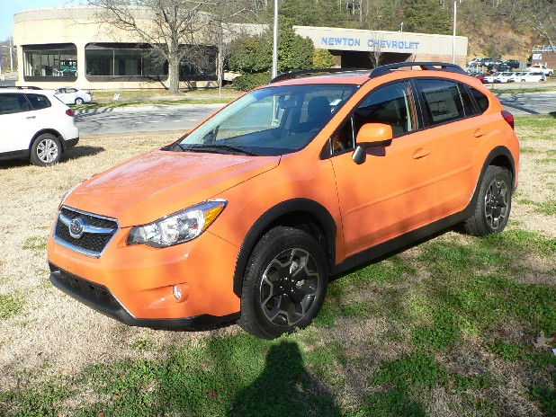 The new Subaru Crosstrek Premium has 8.7 inches of ground clearance for snowy or rutty roads.