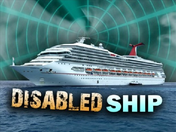 Disabled ship