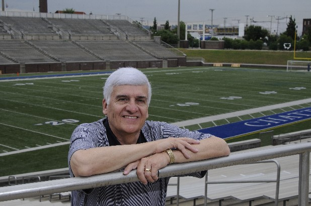 Merrill Eckstein is executive director of Finley Stadium and Davenport Field.