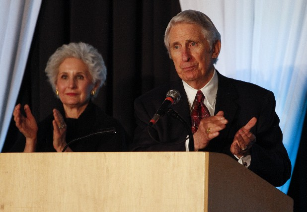 Barby and Tom Edd Wilson spoke at the luncheon.