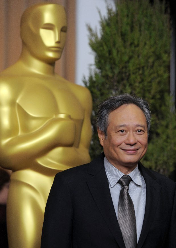 "Ang Lee, nominated for best picture and directing for ""Life of Pi,"" arrives at the 85th Academy Awards Nominees Luncheon at the Beverly Hilton Hotel on Monday, Feb. 4, 2013, in Beverly Hills, Calif. (Photo by Chris Pizzello/Invision/AP)"