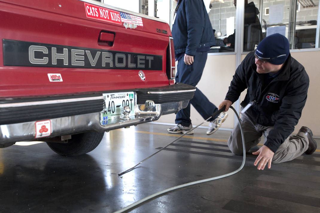Tennessee House Oks Bill Seeking To End Emissions Testing In