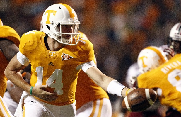 Tennessee quarterback Justin Worley will ge a chance to show that he's ready to take over and lead the Vols offense in spring practice.