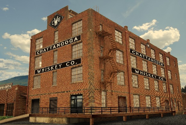 Chattanooga Whiskey Co. is planning to move into this 30,000-square-foot building on Chattanooga's Southside if state lawmakers approve a bill permitting distilling in Hamilton County.