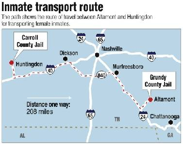 Grundy County may send female inmates to Carroll County
