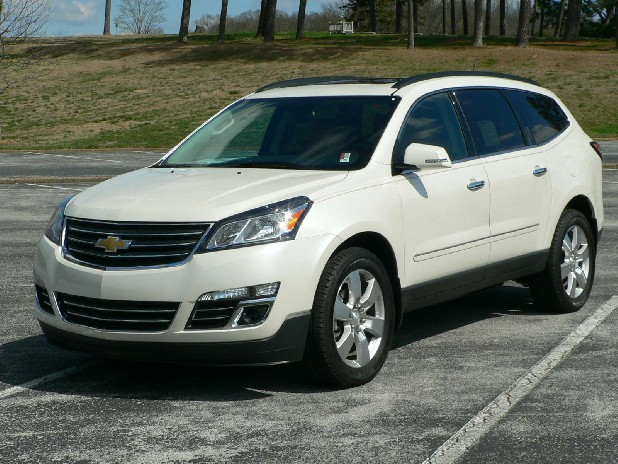 The redesigned Chevrolet Traverse features a powerful, direct-injection six-cylinder engine and plenty of creature comforts. 