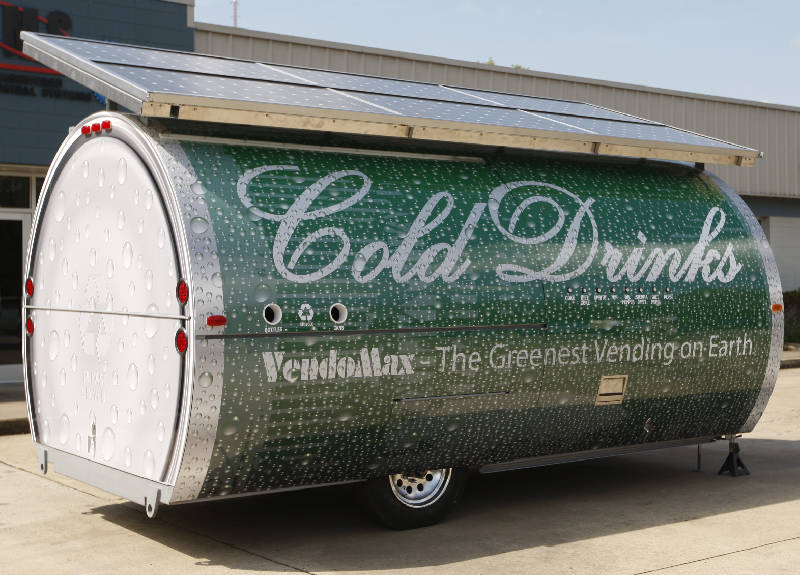 Solar Powered Soda Vendor Is Chattanooga Made Times Free