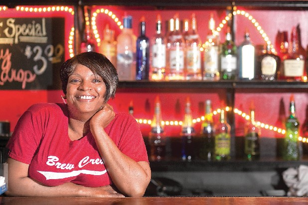Lisa Bennett has been a bartender at Rhythm & Brews for 10 years.