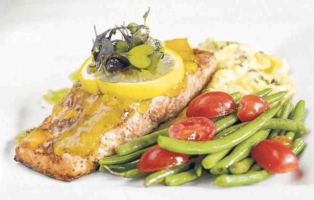 Catch Bar & Grill in Cleveland, Tenn., offers fresh seafood such as salmon.