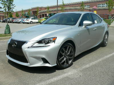 Test Drive New Lexus Is 350 Both Athletic And Refined
