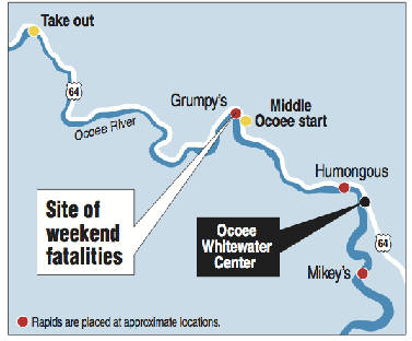 A deadly 24 hours: How two women met their deaths on the Ocoee River ...