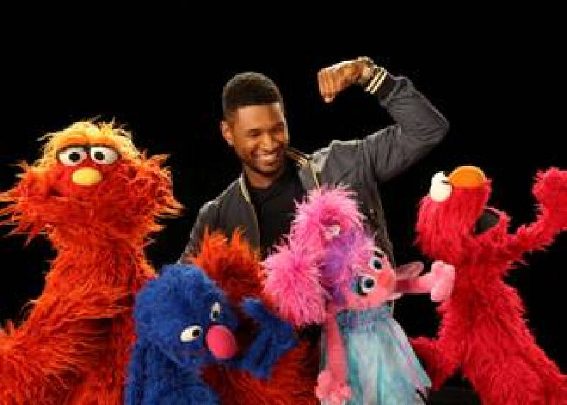 Usher Has New Song With Sesame Street Gang Called The Abc S Are Moving You Chattanooga Times Free Press