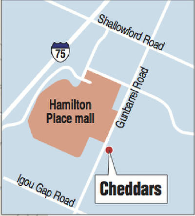 Cheddar's restaurant chain entering Chattanooga area market ... on eastern hills mall map, four seasons mall map, marley station mall map, columbia mall map, fayette mall map, briarwood mall map, fresno fashion fair mall map, mount berry square mall map, maplewood mall map, melbourne square mall map, willowbrook mall map, eastland mall map, wolfchase galleria mall map, turtle creek mall map, bellevue center mall map, eastpoint mall map, wellington mall map, prescott gateway mall map, crabtree valley mall map, west town mall map,