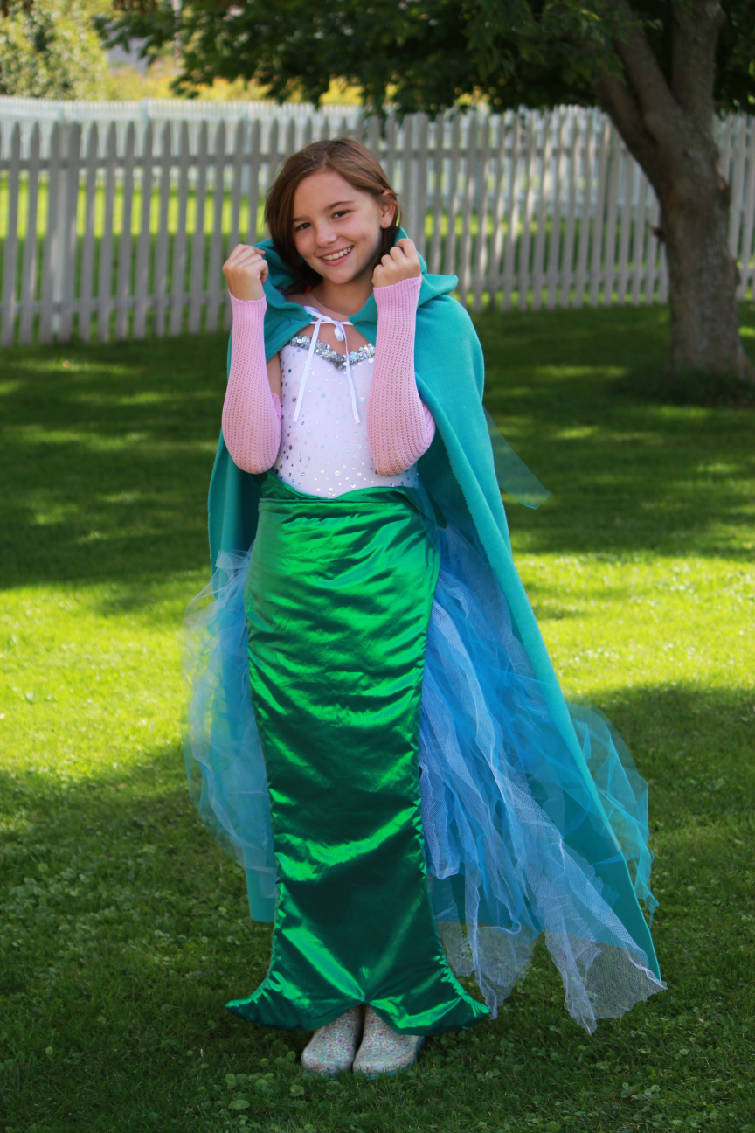 Kim Conner designed this mermaid costume for her daughter. Find directions at her website .733blog.com. (AP Photo/Copyright 2013 Martha Stewart ...  sc 1 st  Chattanooga Times Free Press & DIY costume tips: What to splurge on what to improvise for homemade ...