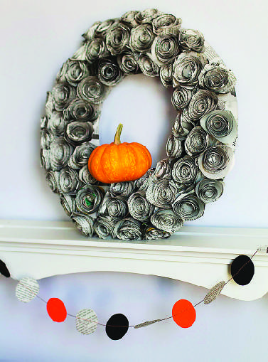 Spooky Halloween Crafts Using Newspaper Times Free Press