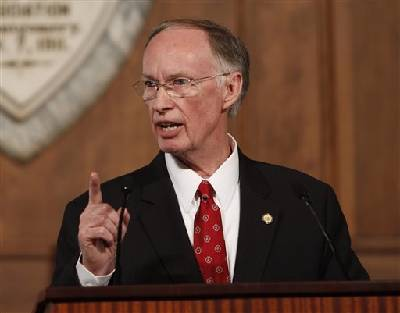 alabama gov. robert bentley's budgets would increase education