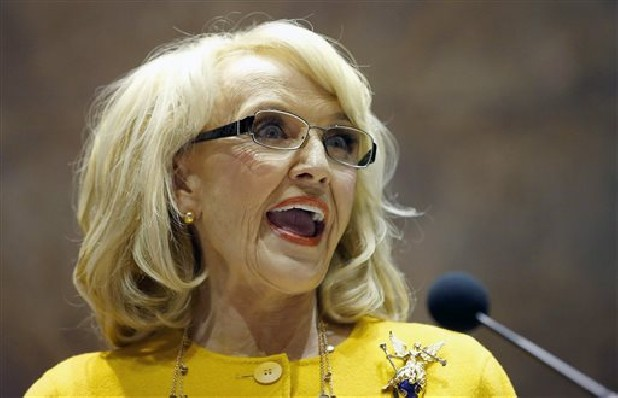 Arizona Gov. Jan Brewer vetoed the Arizona religious liberty bill.