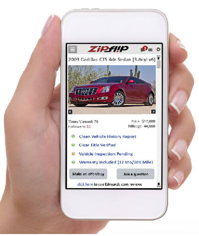 Zip Flip Partners Polish Used Car Buying App For Beta Test Chattanooga Times Free Press
