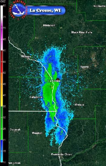 Radar Captures Mayfly Swarm On Mississippi River Times Free Press