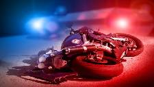 Two people in critical condition after motorcycle crash