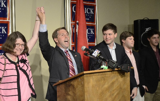 MONEY AND TURNOUT WERE KEY TO FLEISCHMANN WIN.