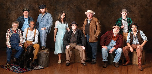 my of mice and men cast Of mice and men - the differences between the book and the film  i have read the book and watched the film 'of mice and men'  weed ranch men on horseback,.