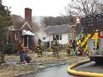 Man rescues Great Danes from Red Bank house fire
