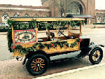 Antique Model Ts may offer historic downtown tours