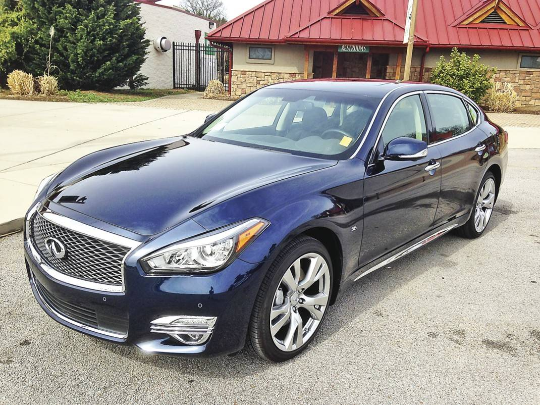 Test Drive Infiniti S Flagship Q70 Sedan Gets New Wind In Its Sails