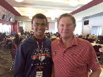 Spurrier offers scholarship to eighth-grader