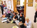 Protesters try to keep Insure Tennessee alive