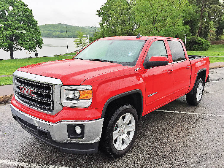 Test Drive 2015 GMC Sierra 1500 Crew Cab SLE A Broad Shouldered Truck Rides Like Car