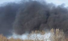 Controlled burn happening today southeast of Trion, Georgia