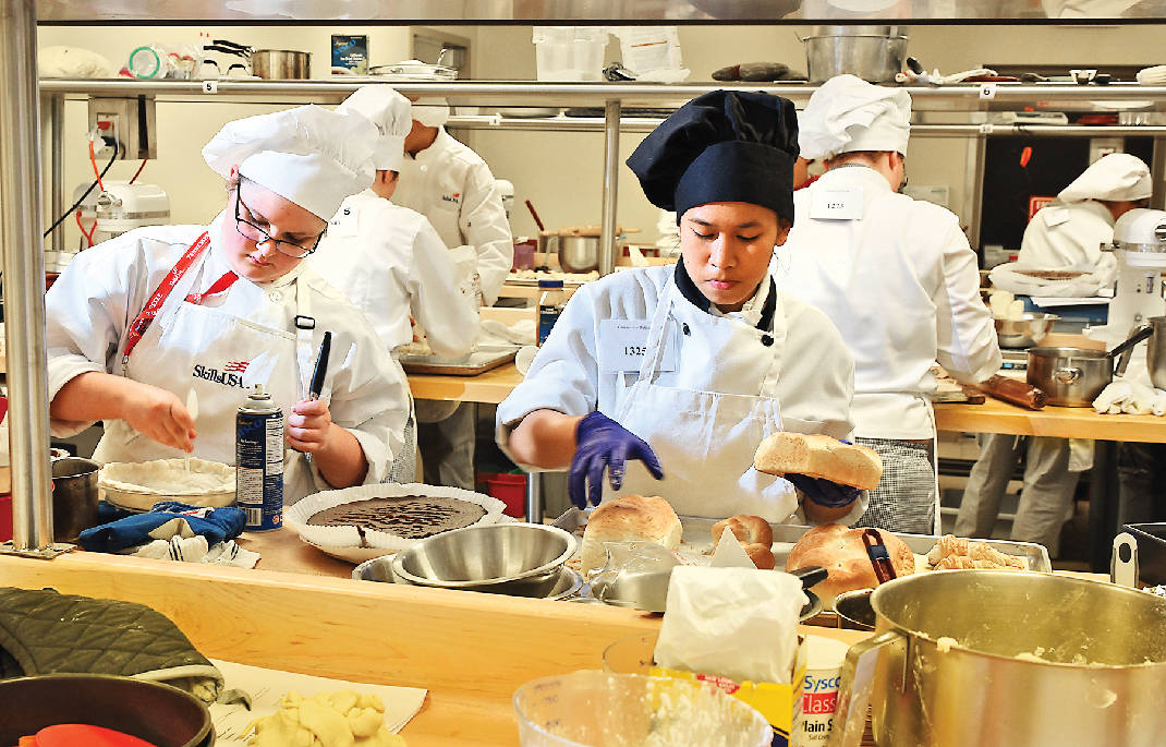 Student Chefs Conjure Confectionary Delights In State