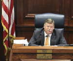 Jim Coppinger to discuss actions he'll take on commissioners' last-minute budget change